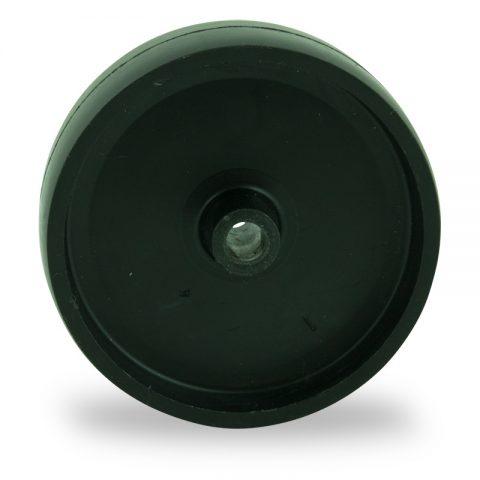 Rader 75mm für lichtwagen aus polypropylen,gleitlager