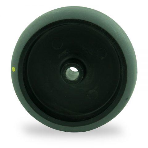 Rader 75mm für lichtwagen aus elektrisch leitfahig grau thermoplasticher gummi,gleitlager